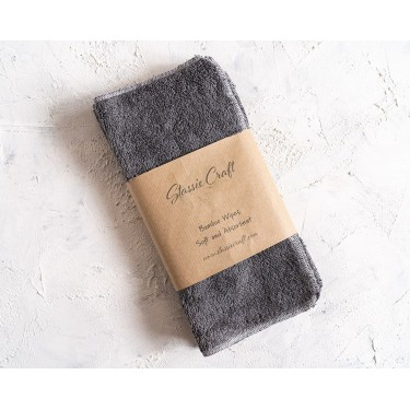 Soft bamboo Dark Grey Wipes