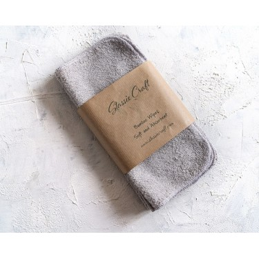 Soft bamboo Light Grey Wipes