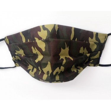 Camouflage Pattern Face Mask
