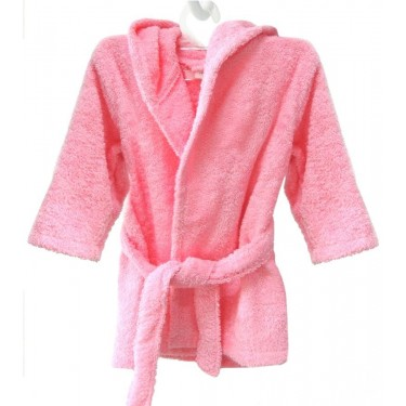 Pink Kids' bathrobe