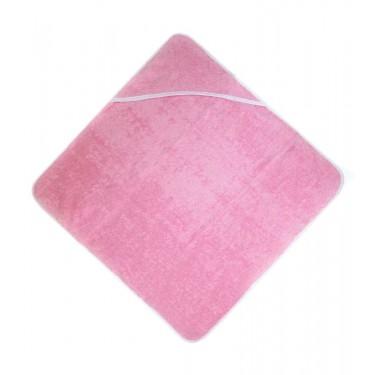 Pink baby hoody towel